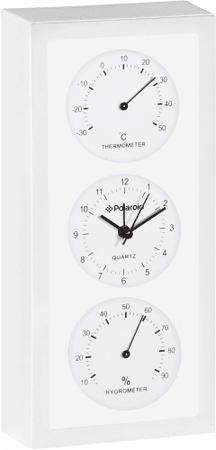 TimeLife termometr z higrometrem i zegarem TL-180B