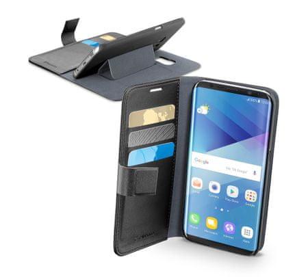 CellularLine preklopna torbica Book Agenda za Samsung Galaxy S8, črna