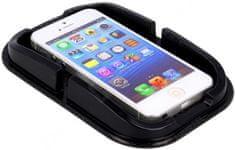Forever podstawka samochodowa na telefon, z ramką, czarna