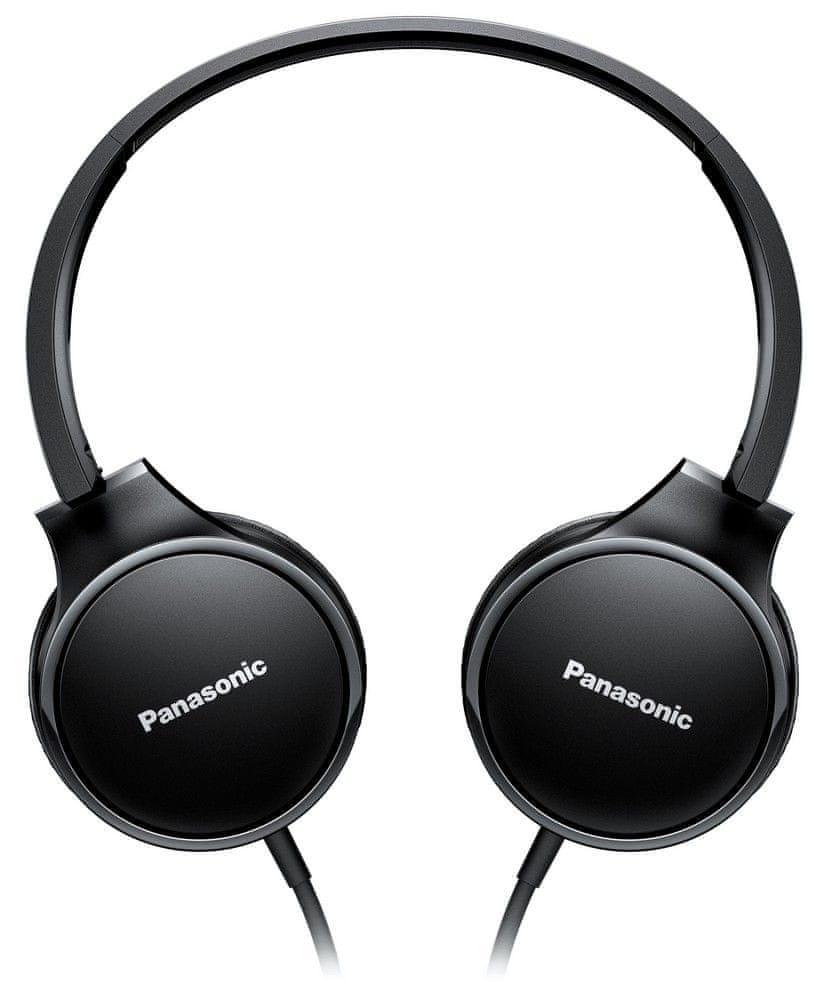 Panasonic RP-HF300ME-K sluchátka s mikrofonem, černá