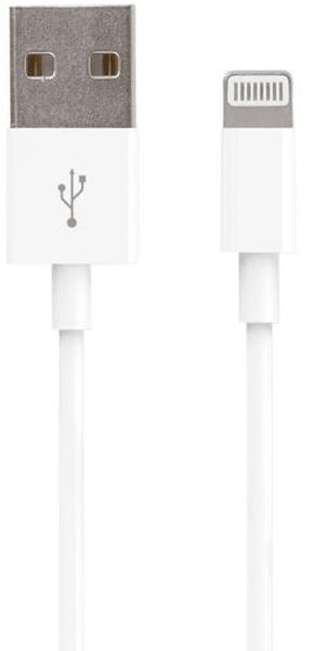 Forever Datový kabel pro Apple Iphone 5, bílá