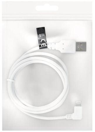 Forever przewód do przesyłania danych, Apple Iphone 5, bulk, złącze pośrednie, biały