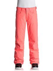 Roxy Backyard Pt J Neon Grapefruit hlače za smučanje