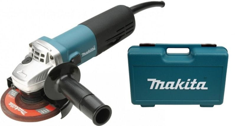 Makita 9558HNRK úhlová bruska, 125 mm