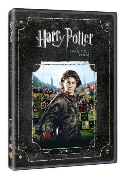 Harry Potter a Ohnivý pohár - DVD
