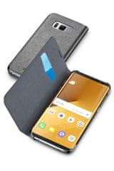 CellularLine preklopna torbica Book Essential za Samsung Galaxy S8 Plus, črna - odprta embalaža