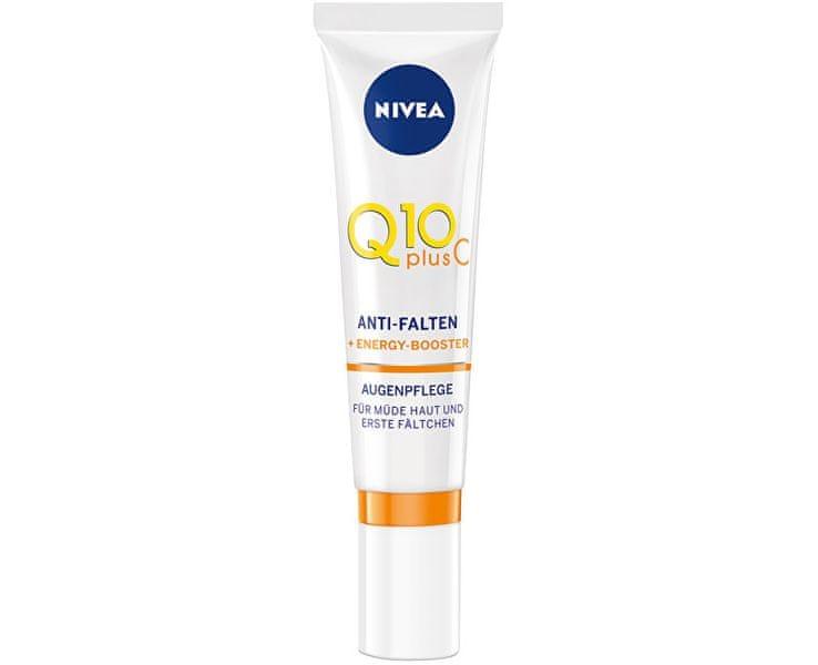 Nivea Energizující oční krém proti vráskám Q10 Plus C 15 ml