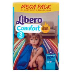 Libero Comfort 3 (4-8 kg), 88 db Pelenka
