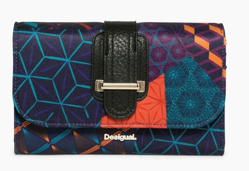 Desigual dámská vícebarevná peněženka Lengüeta Erika