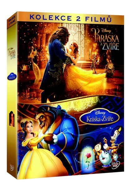 Kolekce Kráska a zvíře (2DVD) - DVD