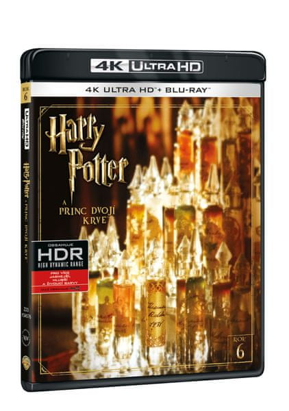 Harry Potter a Princ dvojí krve (2 disky) - Blu-ray + 4K ULTRA HD
