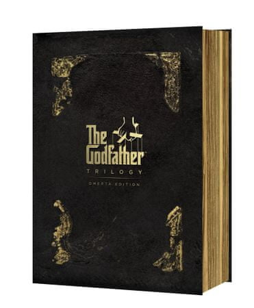 Kmotr kolekce: Edice Omerta / The Godfather Collection: Omerta Edition (4DVD)   - DVD