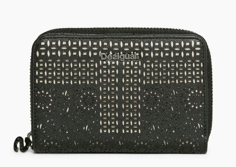 Desigual dámská černá peněženka Magnetic Sandra