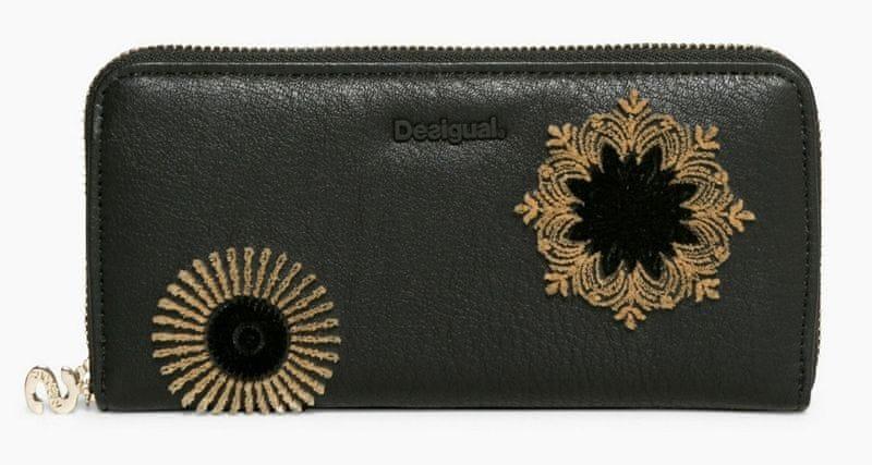 Desigual dámská černá peněženka Fiona Rubi