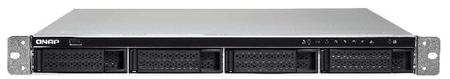 Qnap NAS strežnik za 4 diske TS-463U, rack, odvečni napajalnik