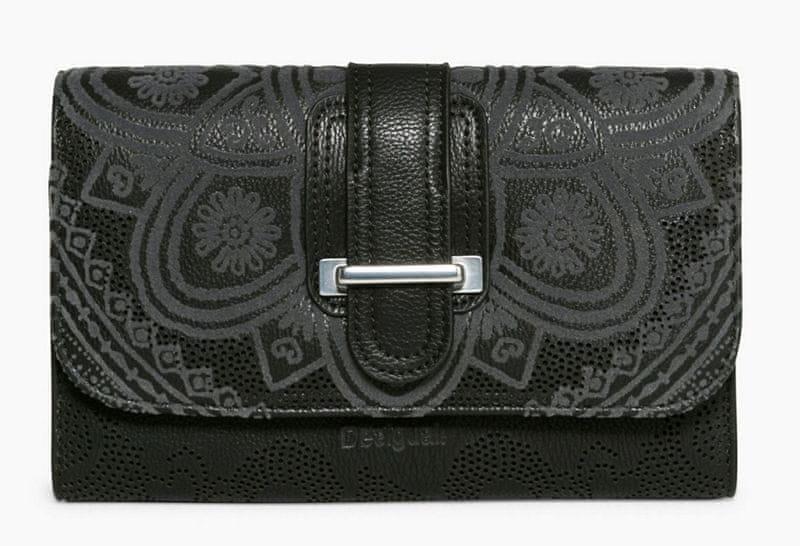 Desigual dámská černá peněženka Lengüeta Anabella