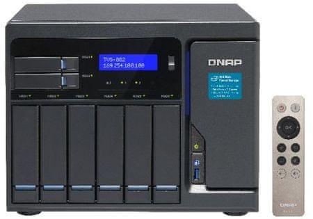 Qnap NAS Strežnik za 8 diskov TVS-882-i3-8G