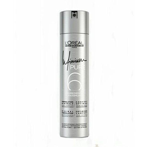 Loreal Professionnel Hypoalergenní lak na vlasy bez parfemace pro extra silnou fixaci vlasů Infinium Pure (Extra Strong H
