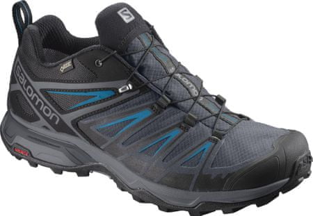 Salomon čevlji X Ultra 3 Gtx, črno-modri, 43,3