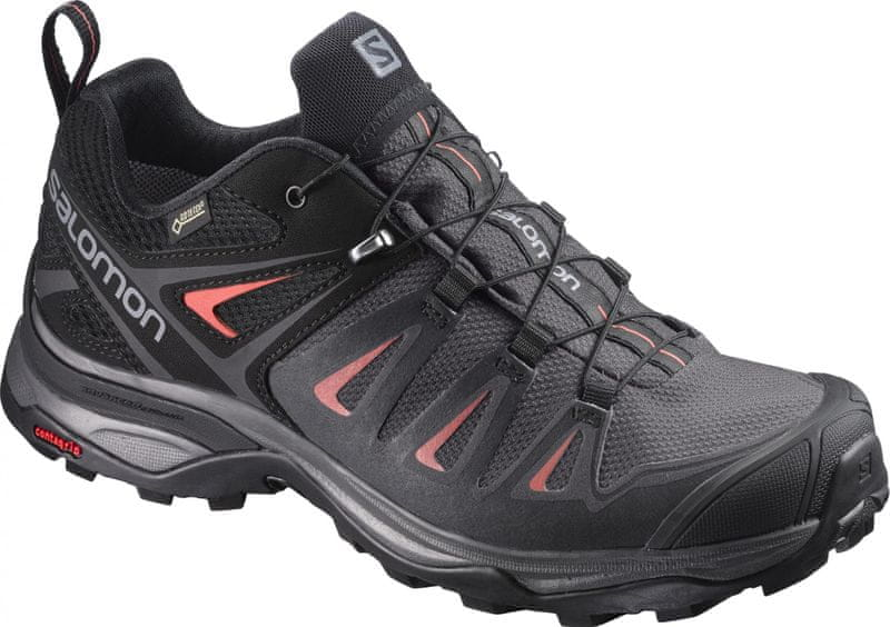 Salomon X Ultra 3 Gtx W Magnet/Black/Mineral Red 37.3