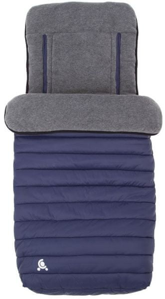 CuddleCo Fusak do kočárku Comfi-Snug 2v1, Blue