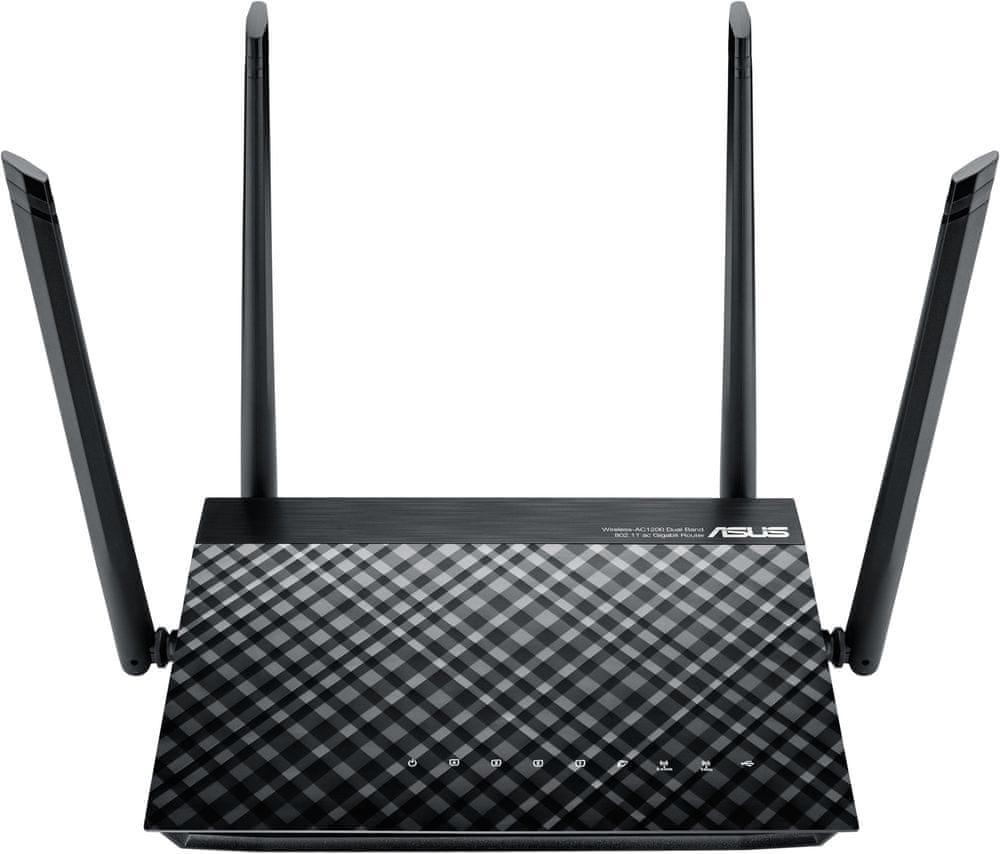 Asus bezdrátový router RT-AC1200 (90IG0211-BM3D00)