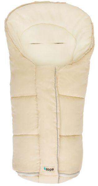 CuddleCo Zimní fusak Polar, Beige/Whitewash
