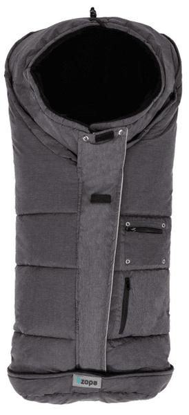 CuddleCo Zimní fusak Siberian, Grey/Black