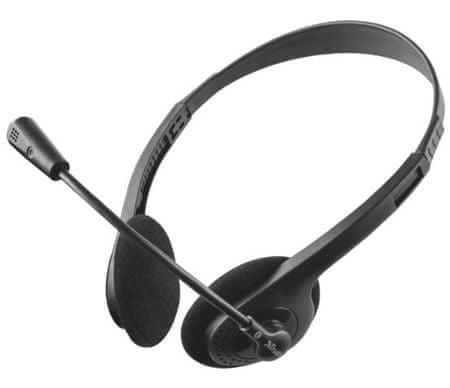 Trust slušalke z mikrofonom Primo