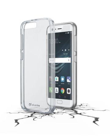 CellularLine prozoren ovitek iz plastike in robom iz gume Clear Duo za Huawei P10