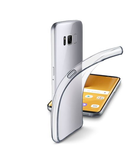 CellularLine prozirna i tanka gumena maskica Fine za Samsung Galaxy S8 Plus