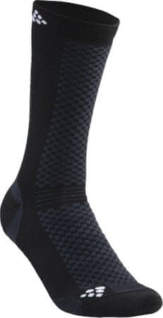 Craft skarpetki Warm 2-pack black 43-45
