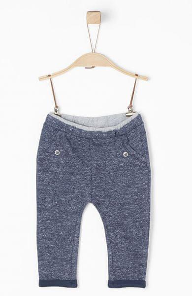 s.Oliver chlapecké kalhoty 80 modrá