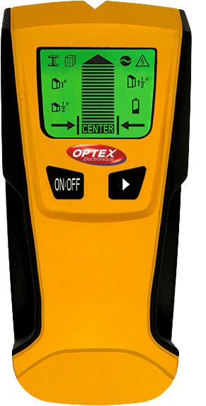 Optex Digitální detektor kovu, dřeva a AC vedení DET-06