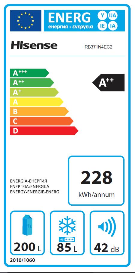 Hisense RB371N4EC2