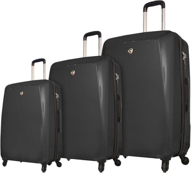 Mia Toro M1015/3 Sada cestovních kufrů černá