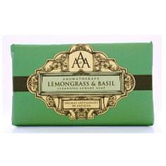 Somerset Toiletry Luxusné čistiace mydlo Citrónová tráva a bazalka (Lemongrass & Basil Cleansing Luxury Soap) 200 g