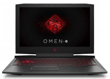 HP prijenosno računalo Omen 15-ce013nm i7-7700HQ/16GB/1TB+256GB SSD/15,6FHD/GTX1060 6GB/W10H (2LE05EA)