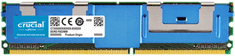 Crucial pomnilnik DDR2 4GB 667MHz CL5 Fully Buffered ECC FBDIMM 240pin (CT51272AF667)