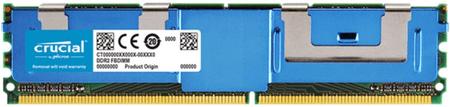 Crucial pomnilnik DDR2 4GB 667MHz CL5 Fully Buffered ECC FBDIMM 240pin (CT51272AF667)