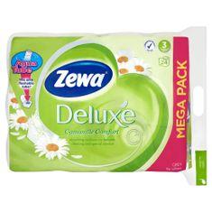 Zewa Deluxe Camomile Comfort Toalettpapír, 3 rétegű, 24 tekercs