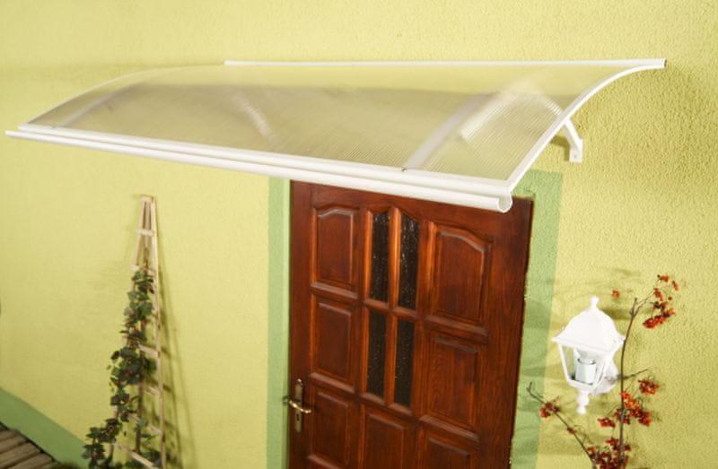 LanitPlast vchodová stříška LANITPLAST LARUS 160/87 bílá