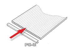 VITAVIA PC U-profily 4 mm pro skleník VITAVIA CALYPSO 5800