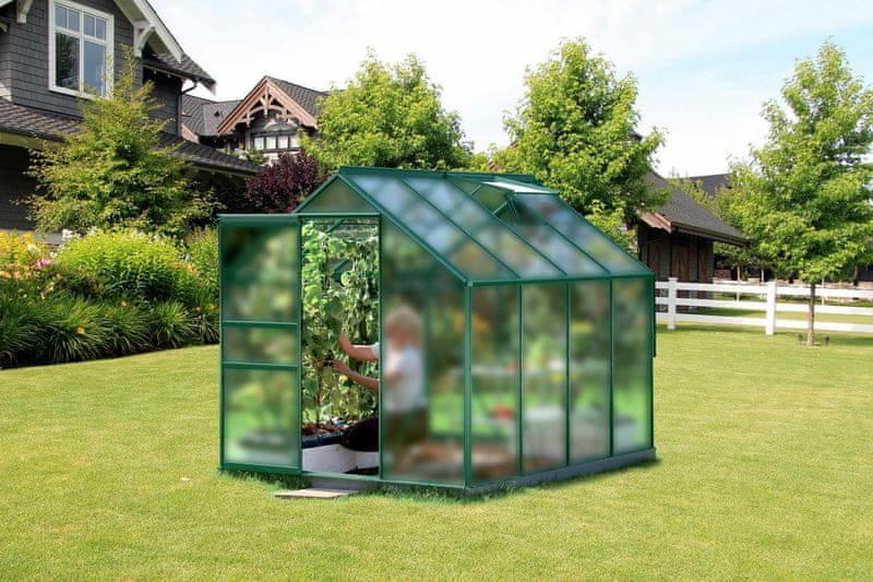 VITAVIA skleník VITAVIA VENUS 5000 matné sklo 4 mm zelený