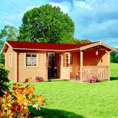 LanitPlast zahradní domek LANITPLAST LIVIA 599 x 587 cm