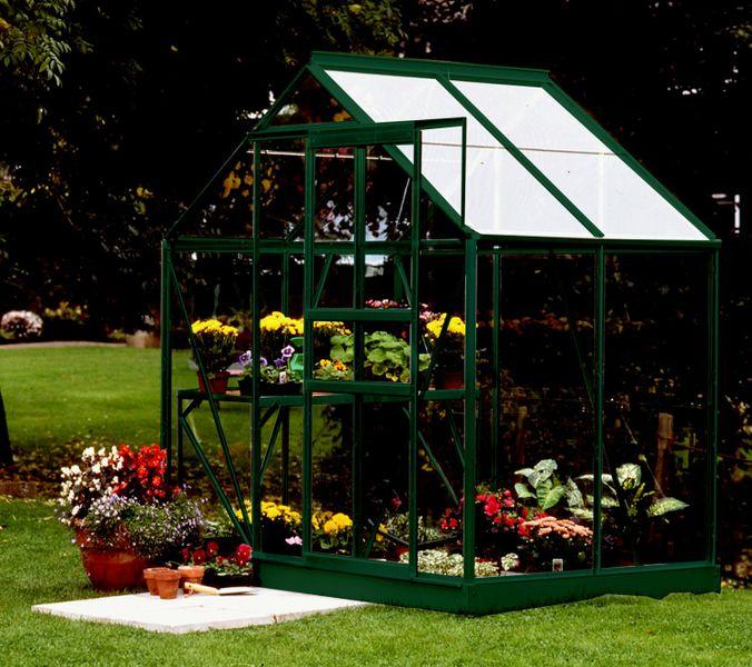 VITAVIA skleník VITAVIA VENUS 2500 čiré sklo 3 mm zelený