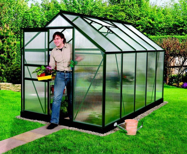 VITAVIA skleník VITAVIA VENUS 6200 PC 4 mm zelený