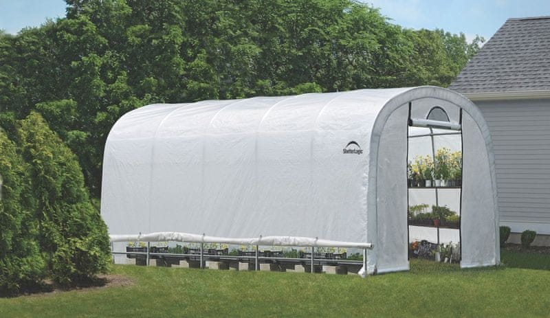 ShelterLogic plachtový skleník SHELTERLOGIC 3,7 x 6,1 m - 41 mm - 70592EU
