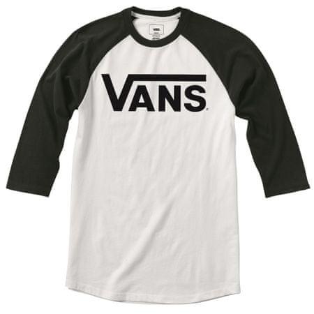 Vans otroška majica, črno-bela, S