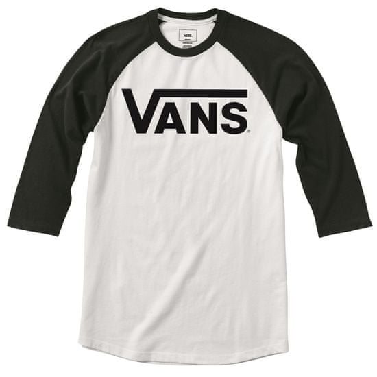 Vans dětské tričko Classic Ragl White/Black